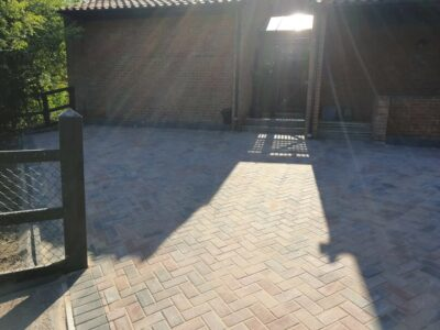 New driveway with block paving in Bristol